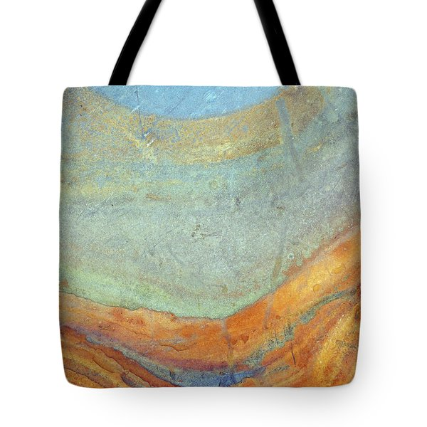 Rock Stain Abstract 7 Tote Bag