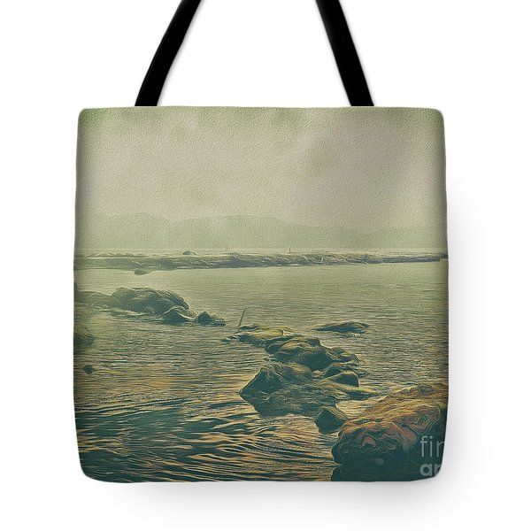 Tote Bag featuring the photograph Rock Steady by Leigh Kemp