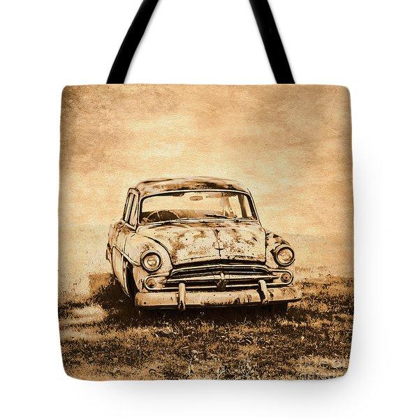 Rockabilly Relic Tote Bag