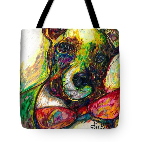 Rocket The Dog Tote Bag