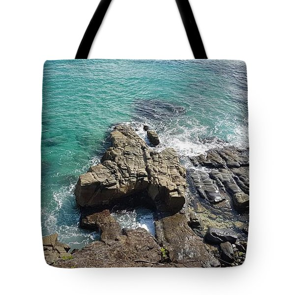 Rocks And Water Tote Bag