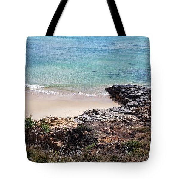 Rocks Sand And Water  Tote Bag