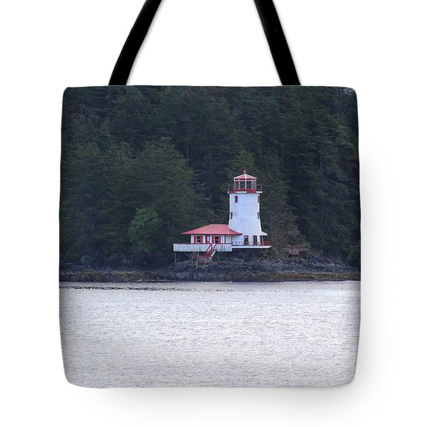 Rockwell Lighthouse - Sitka, Ak Tote Bag