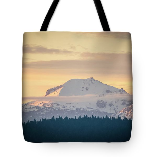 Rocky Cathedrals That Reach To The Sky Tote Bag