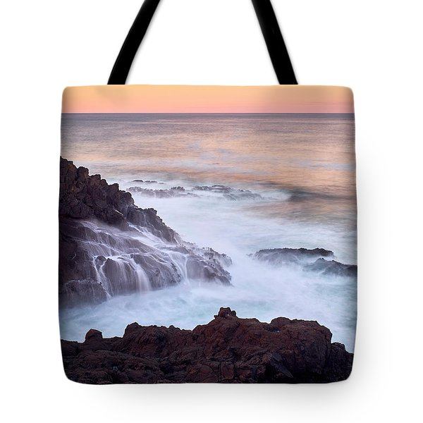 Tote Bag featuring the photograph Rocky Creek by Whitney Goodey