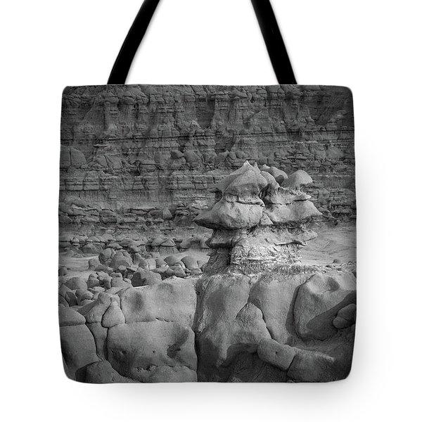 Rocky Desert Formation Tote Bag
