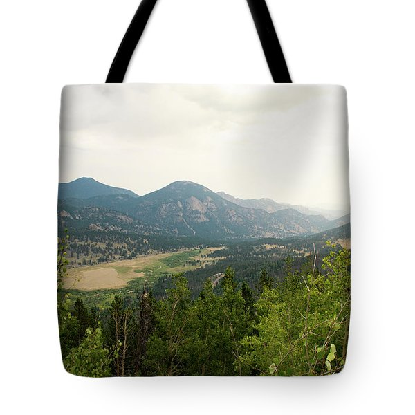 Rocky Mountain Overlook Tote Bag