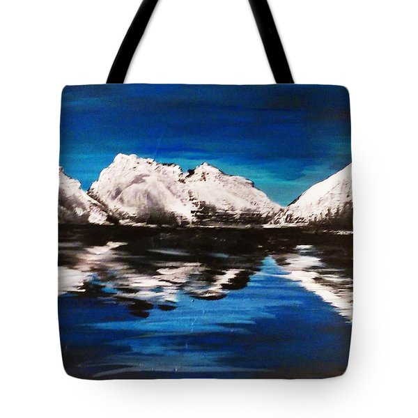 Rocky Reflection  Tote Bag
