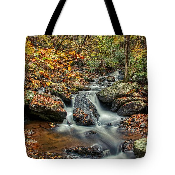 Tote Bag featuring the photograph Rocky Stream by Meta Gatschenberger