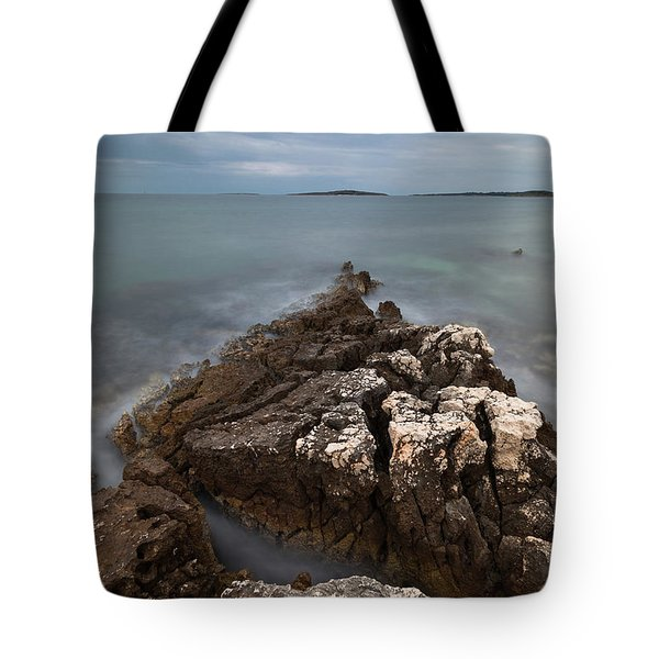 Tote Bag featuring the photograph Rocky Triangle by Davor Zerjav