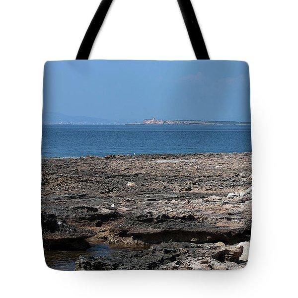 Rocky View To Ibiza Tote Bag