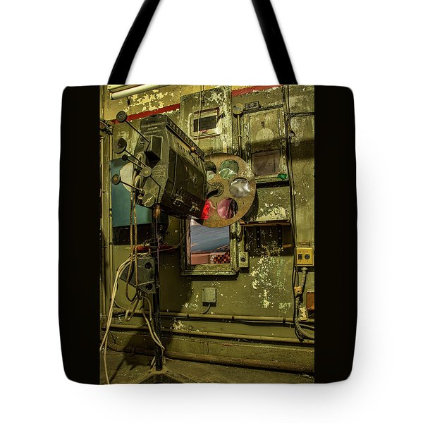 Tote Bag featuring the photograph Roll The Film by Kristia Adams