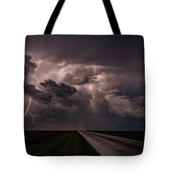 Rollin On Down The Road Tote Bag