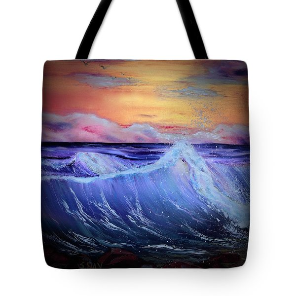 Rollin On The Rocks Tote Bag