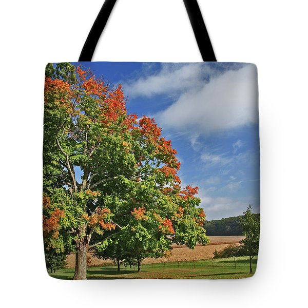 Rolling Farmland Tote Bag