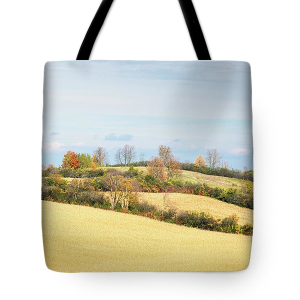 Rolling Hills In Fall Tote Bag