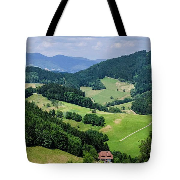 Rolling Hills Of The Black Forest Tote Bag