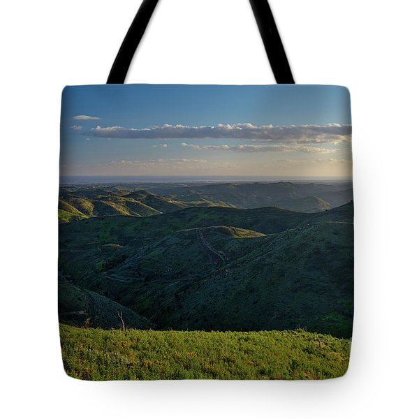 Rolling Mountain - Algarve Tote Bag