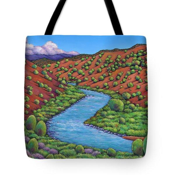 Rolling Rio Grande Tote Bag