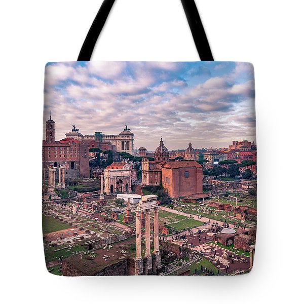 Rome, Past And Present Tote Bag