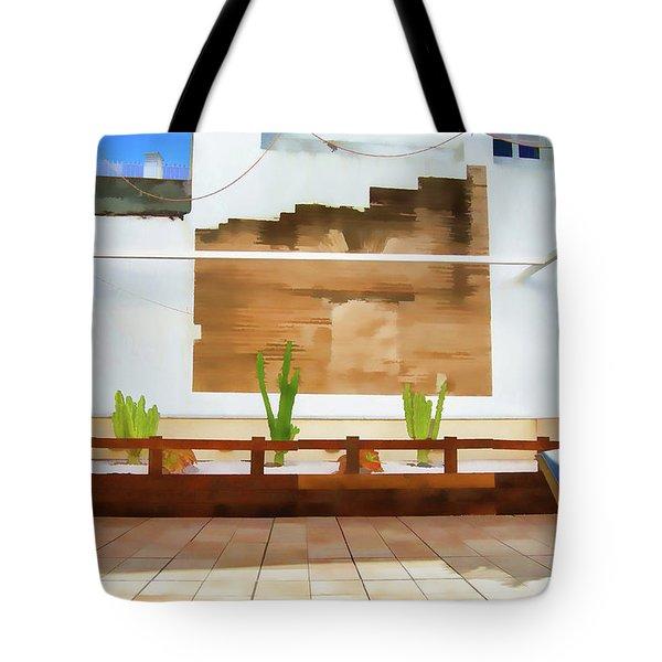 Roof Garden Tote Bag
