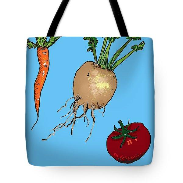 Root Vegetables Tote Bag