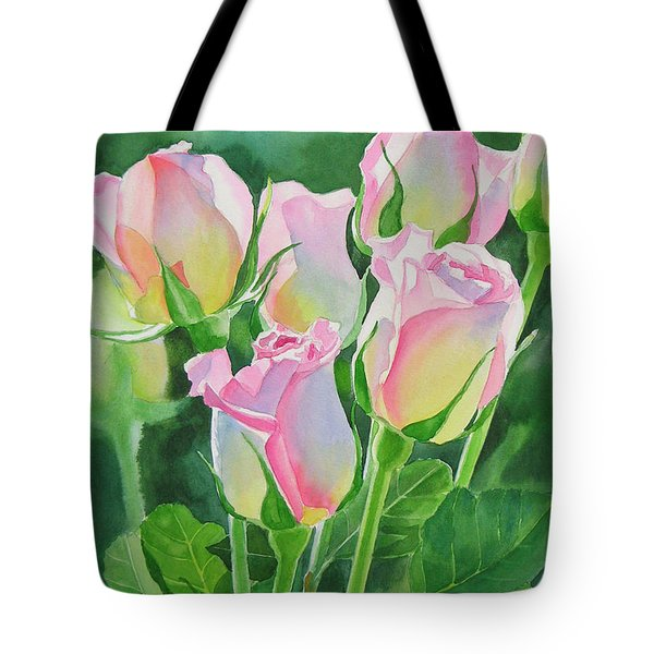 Rose Array Tote Bag