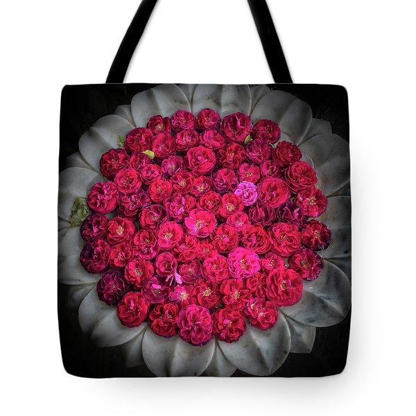 Rose Bowl Tote Bag
