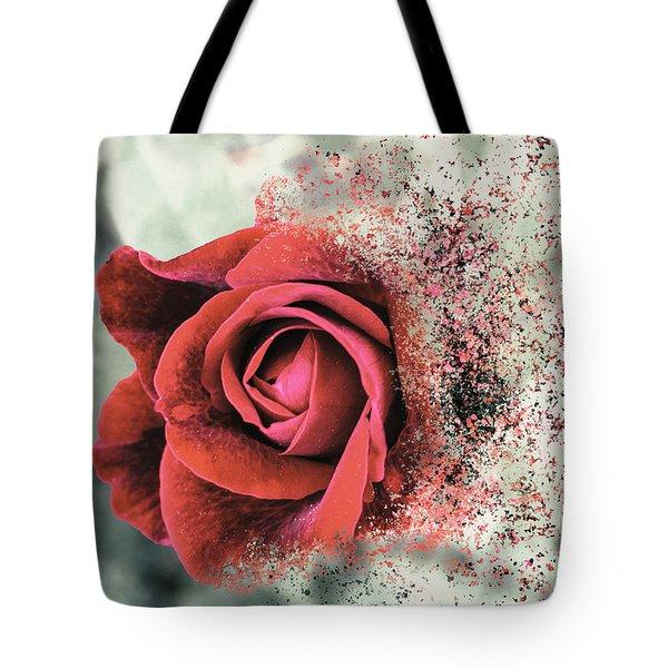 Rose Disbursement Tote Bag