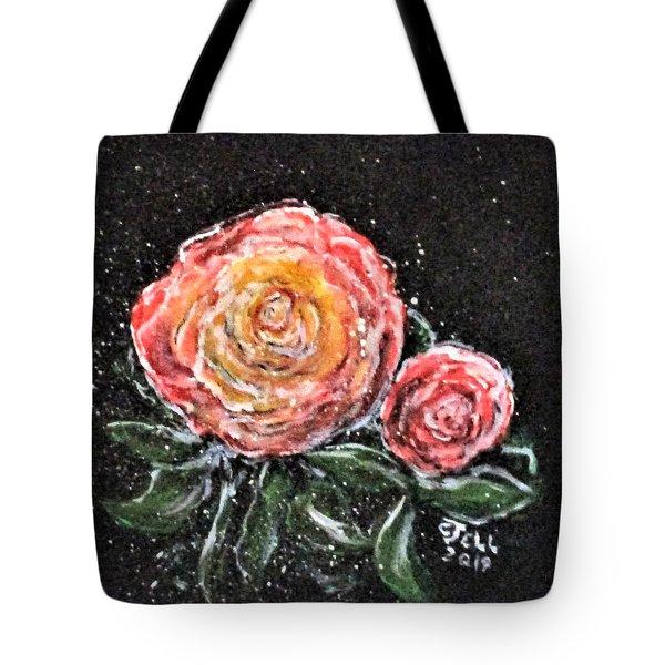 Rose In Light Tote Bag