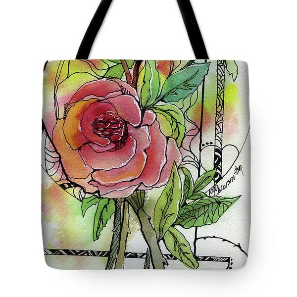 Rose Is Rose Tote Bag