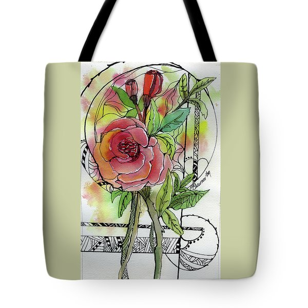 Rose Is Rose Tote Bag