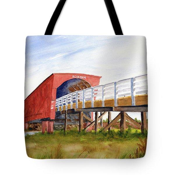 Roseman Bridge Tote Bag