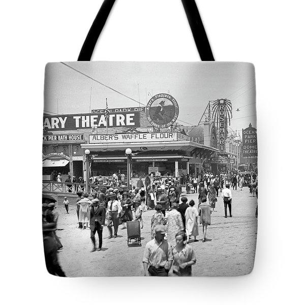 Rosemary Theater Santa Monica Tote Bag