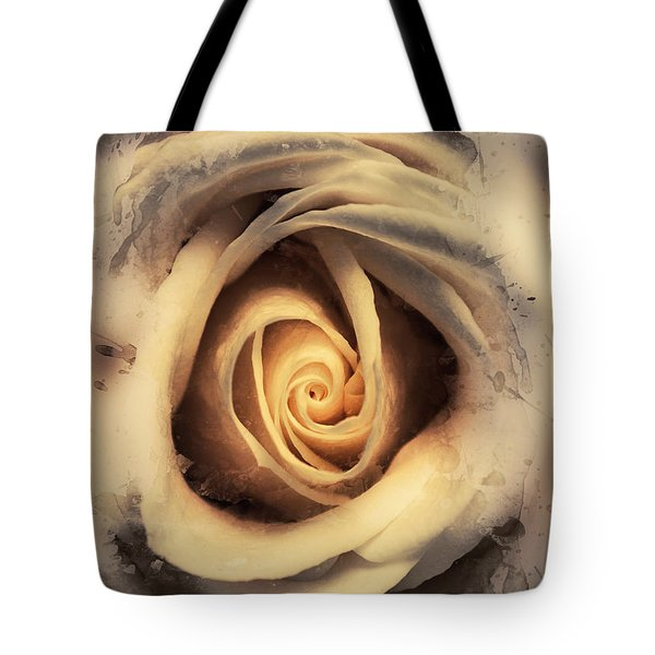 Rosy Reflections Tote Bag