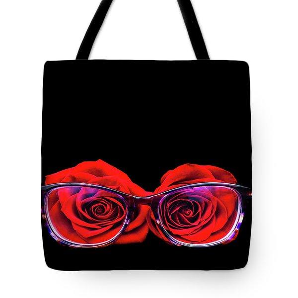 Rosy Vision Tote Bag