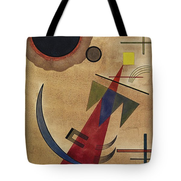 Rot In Spitzform, 1925 Tote Bag