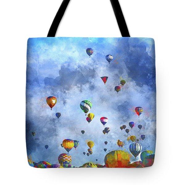 Rough Air Tote Bag