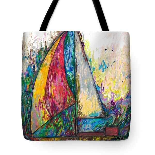 Rough Sailing Tote Bag