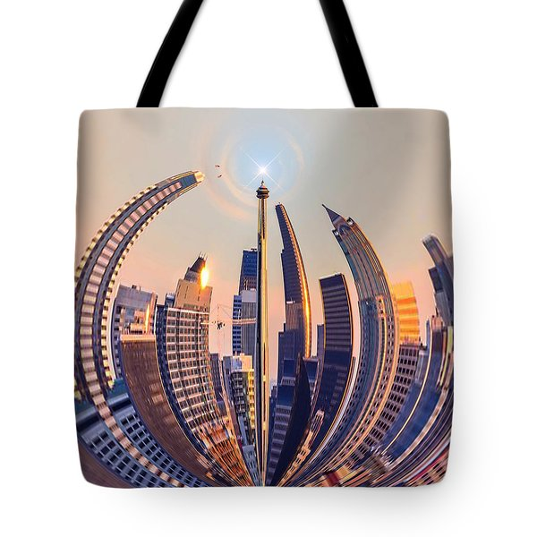 Round The City Tote Bag