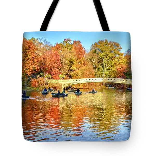 Row Your Boat Tote Bag