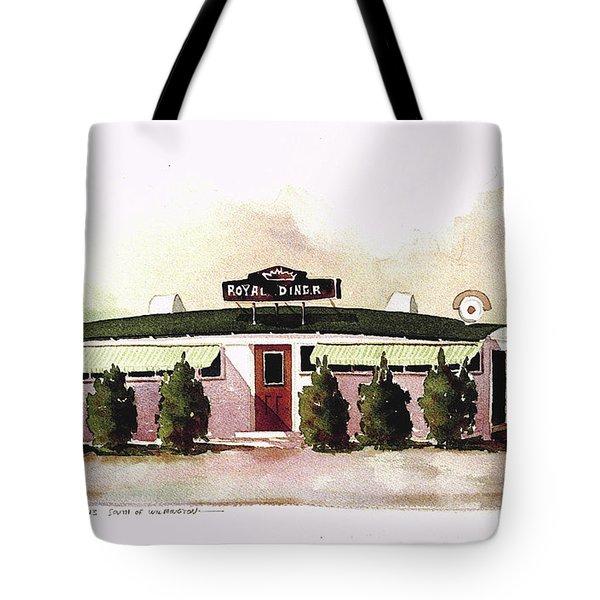 Royal Diner Tote Bag