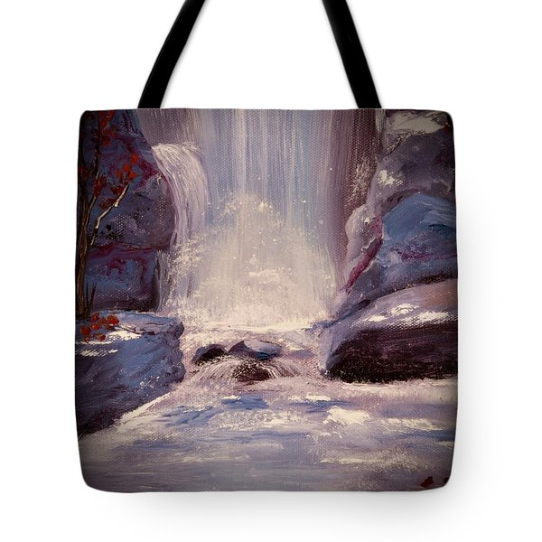 Royal Falls Tote Bag
