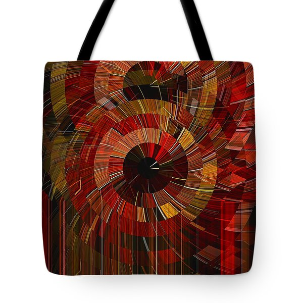Tote Bag featuring the digital art Royal Fireworks by David Manlove