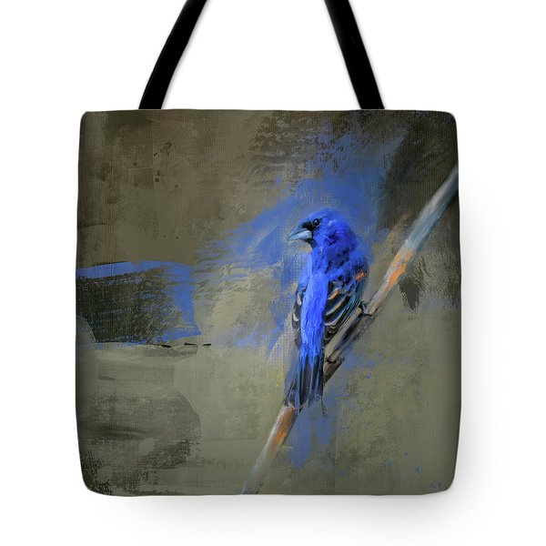Tote Bag featuring the painting Royal One by Jai Johnson