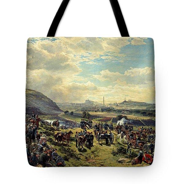 Royal Volunteer Review, 7 August 1860 Tote Bag