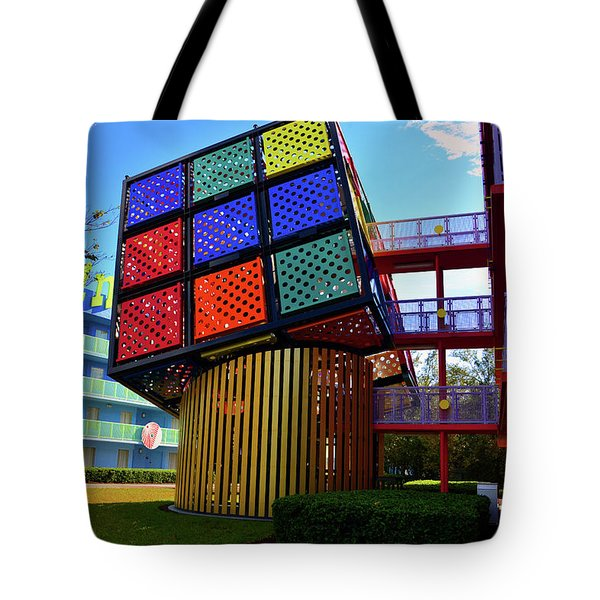 Tote America Art Cube Rubik BagsFine PvwymN80On