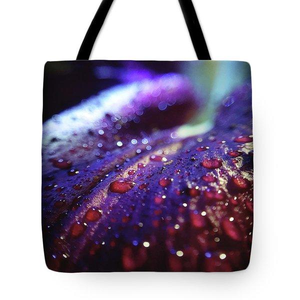Ruby Blue Tote Bag
