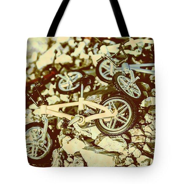 Rugged Biking Tote Bag