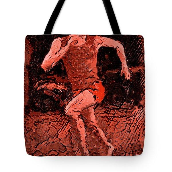 Runner 2 Tote Bag